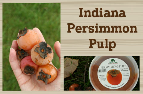 indiana persimmon pulp