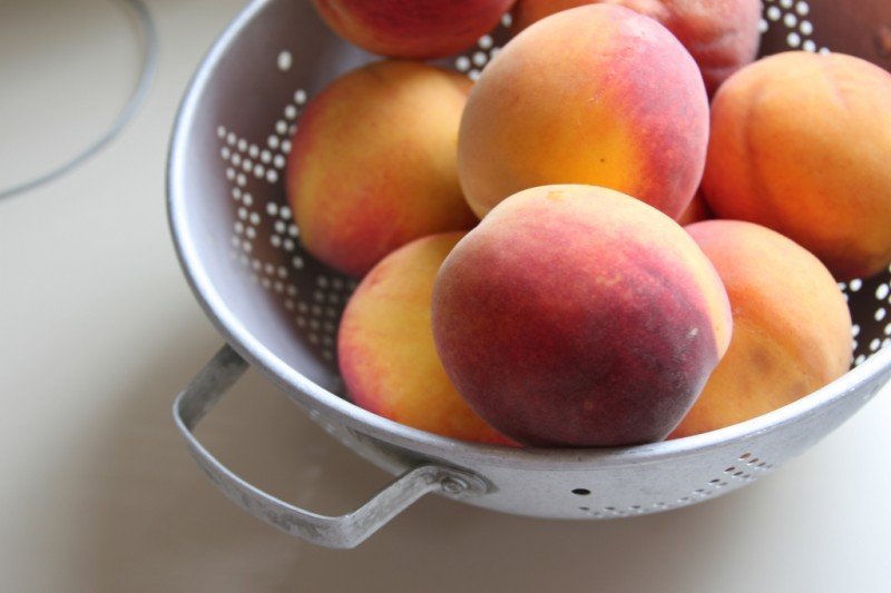 Indiana Peaches
