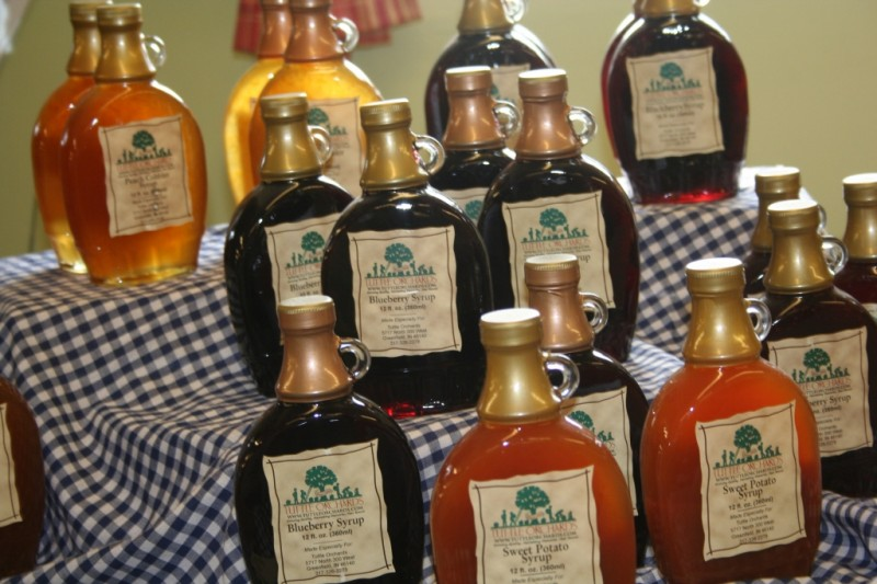 Tuttles Fruit Syrups